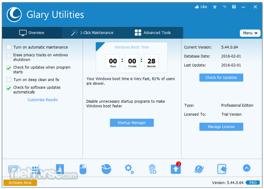 Glary utilities pro 2.27.0.982 multi - heitibermo's blog