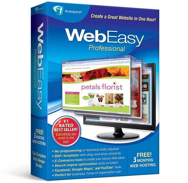 Avanquest WebEasy Professional Free Download