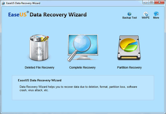 RECOVERY TÉLÉCHARGER EASEUS CRACK DATA WIZARD PROFESSIONAL 11.8