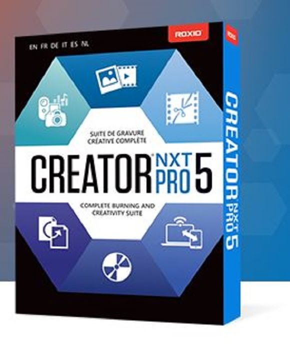 Roxio Creator NXT Pro 5 Free Download