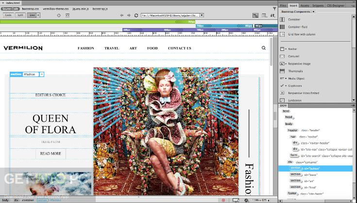 Adobe Dreamweaver CC 2017 Direct Link Download