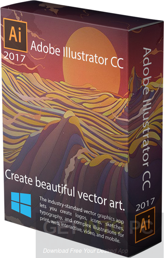 Adobe Illustrator CC 2017 x64 Free Download
