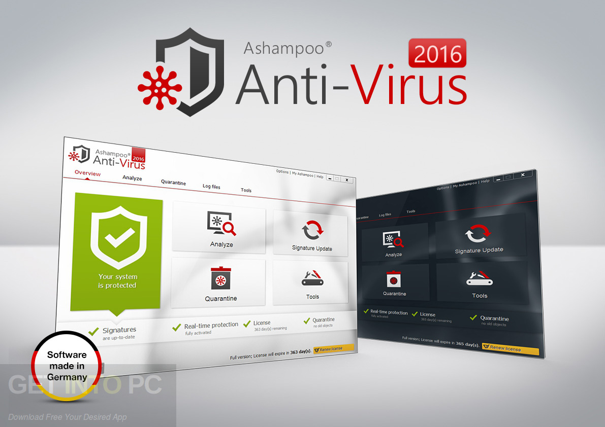 Ashampoo Anti-Virus 2016 Offline Installer Download