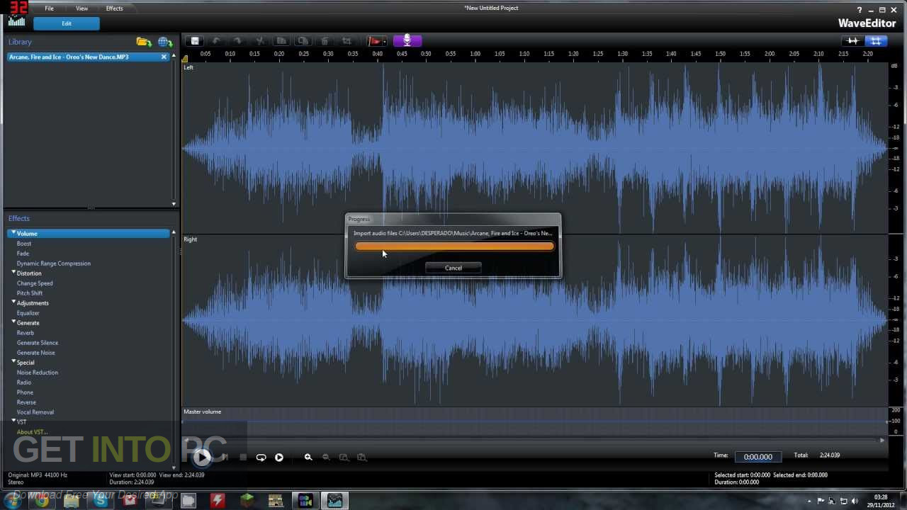 Free download audio editor software full version
