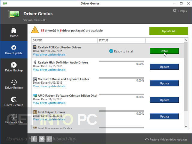 Driver Genius Pro 16 Latest Version Download