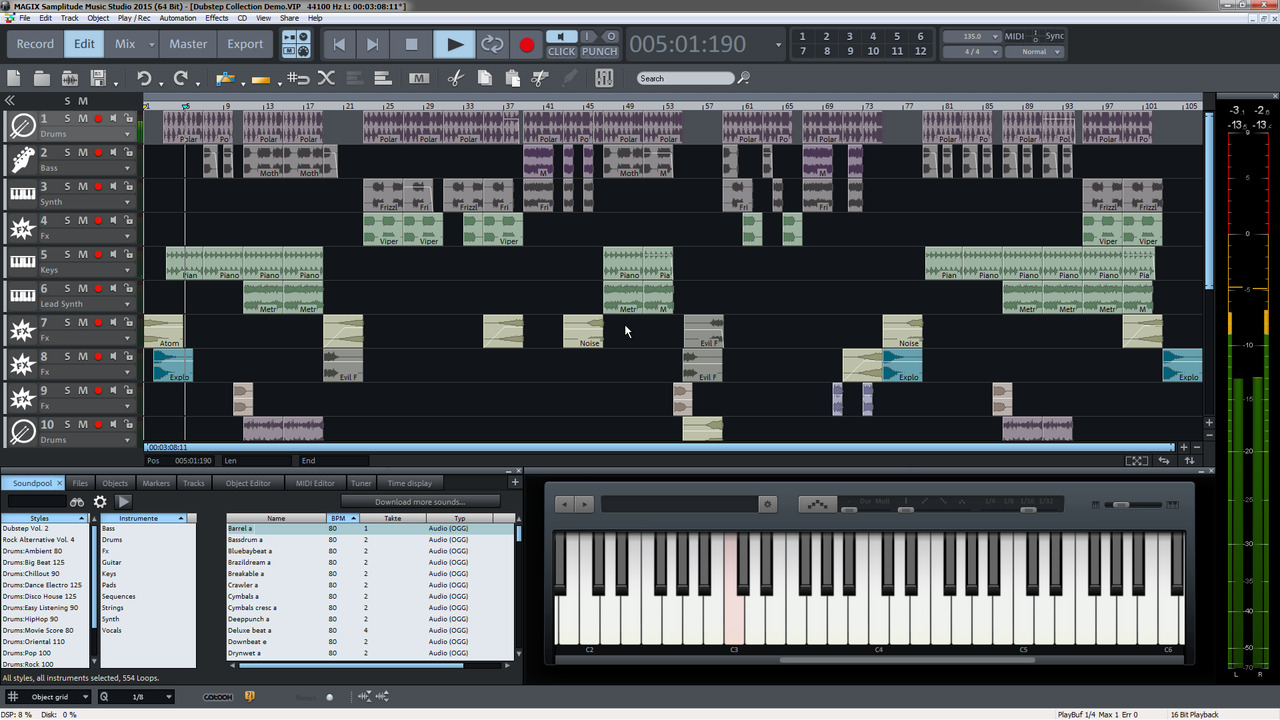Magix samplitude music studio 2017 free download for Rendering online free