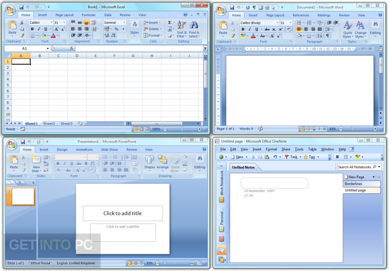 Office 2007 Enterprise with Visio Project SharePoint Direct Link Download