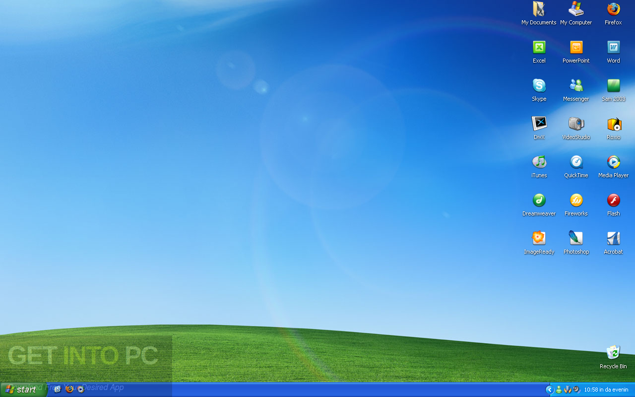 Windows XP Professional SP3 32 Bit ISO Dec 2016 Offline Installer Download