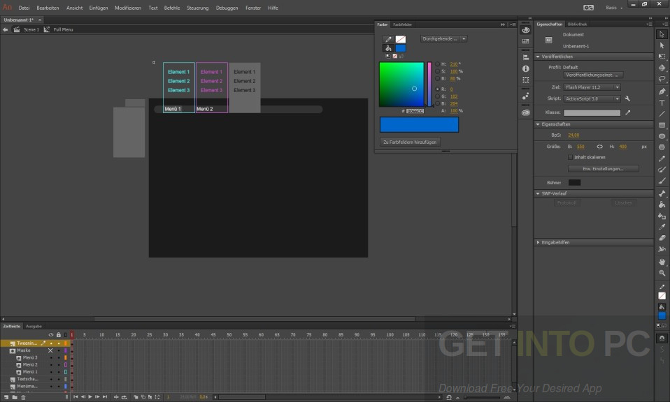 Adobe Animate CC 2017 64 Bit Direct Link Download