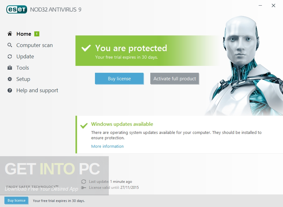 ESET NOD32 Antivirus 10 Direct Link Download