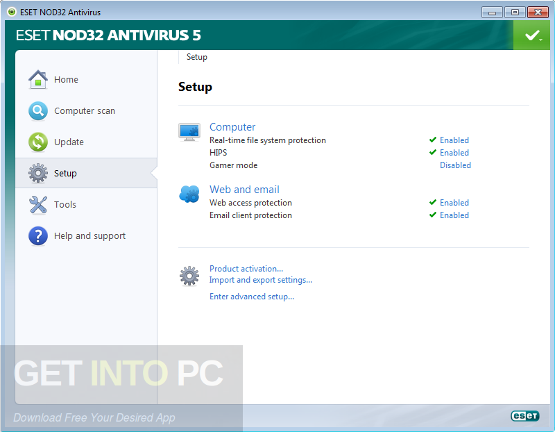 ESET NOD32 Antivirus 10 Latest Version Download