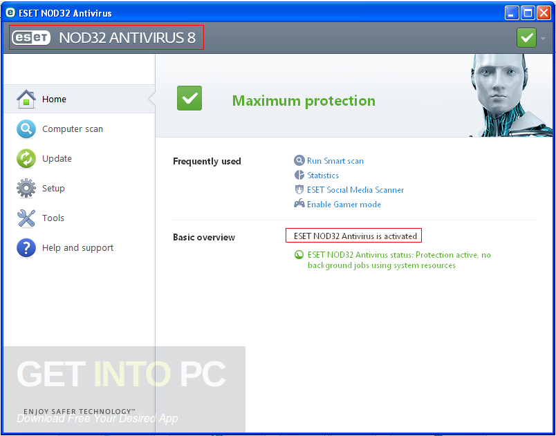 ESET NOD32 Antivirus 10 Offline Installer Download