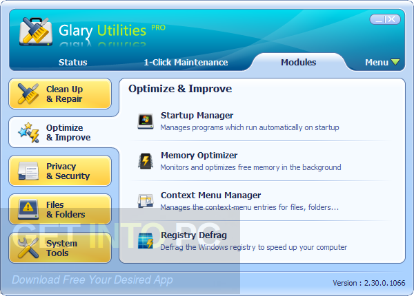 Glary Utilities Pro 5.68.0.89 Direct Link Download
