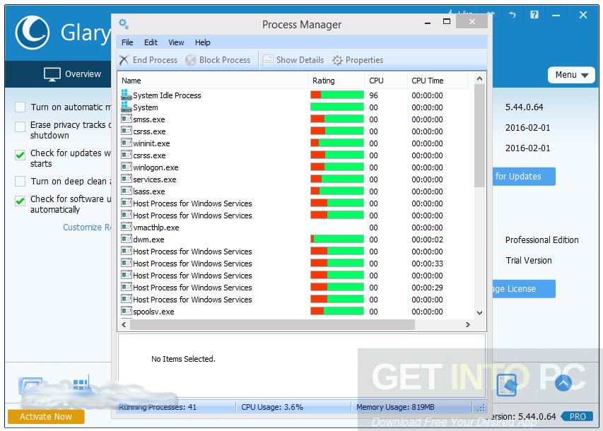 Glary Utilities Pro 5.68.0.89 Latest Version Download