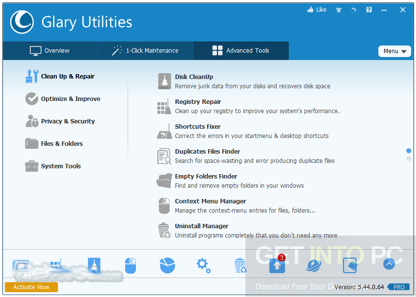 Glary Utilities Pro 5.68.0.89 Offline Installer Download