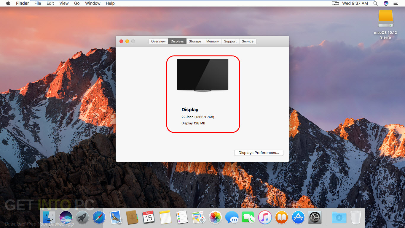 MacOS Sierra v10.12 VMWare Image Direct Link Download