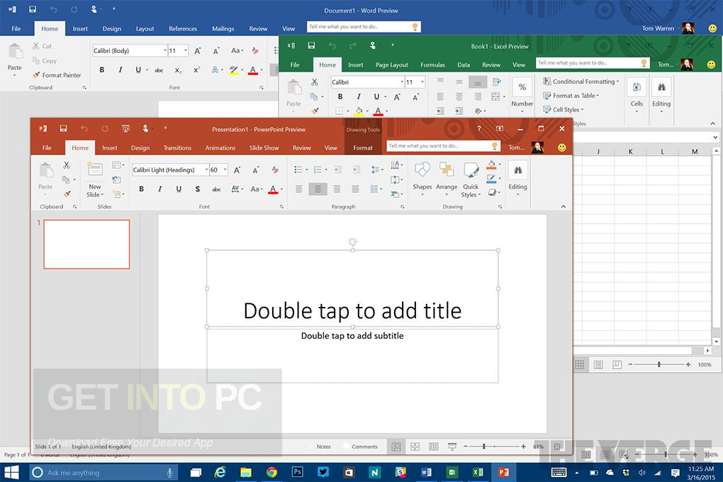 microsoft office 2016 home & student iso