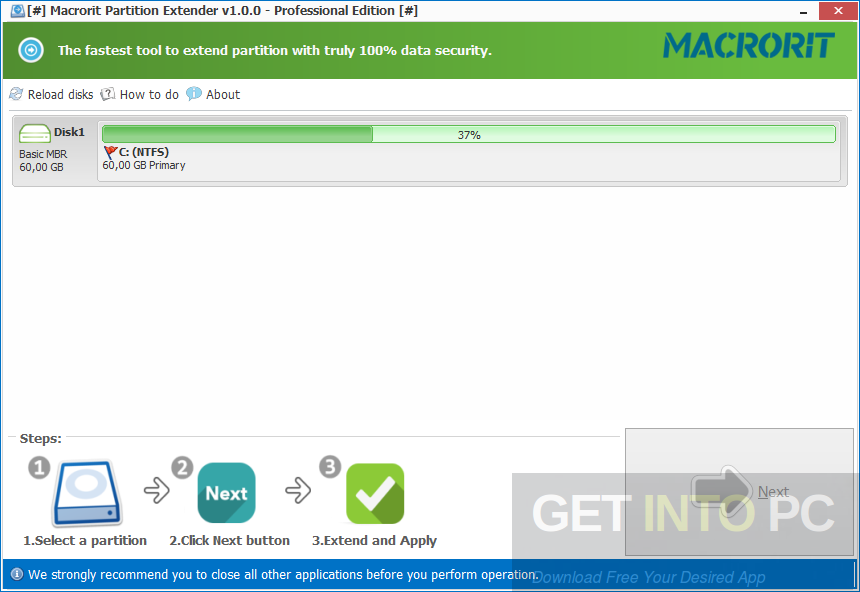 Partition Extender Portable Direct Link Download
