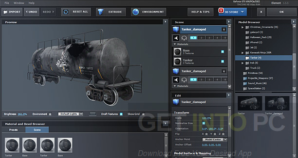 Video Copilot Element 3D 2.2.2 CE + 3D Packs + Pixel Lab Material Pack Direct Link Download