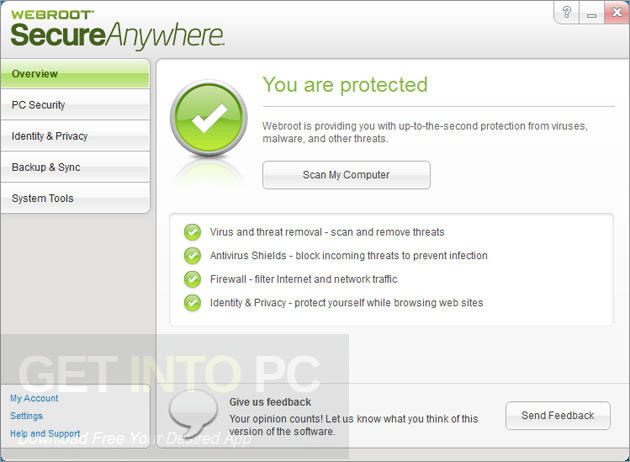 Webroot SecureAnywhere AntiVirus 9 Latest Version DOwnload