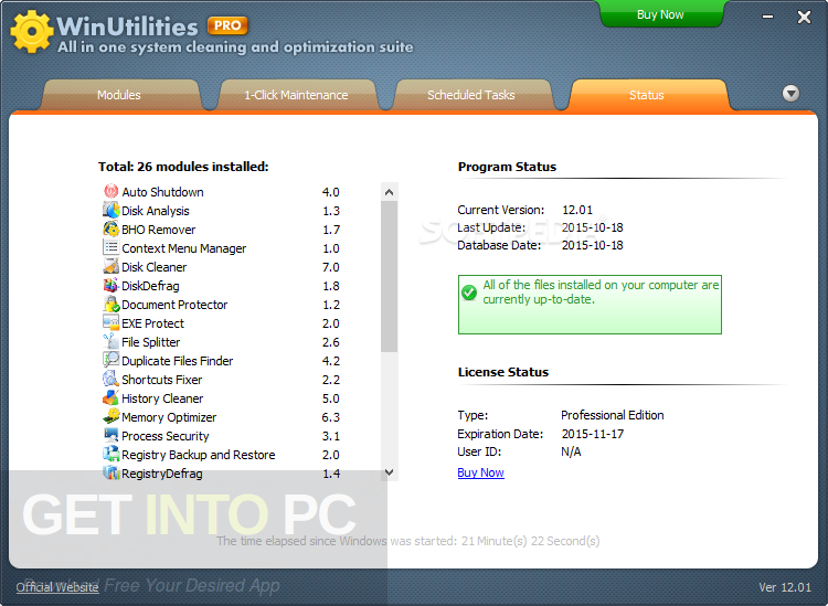 WinUtilities Professional Edition 13 Latest Version Download