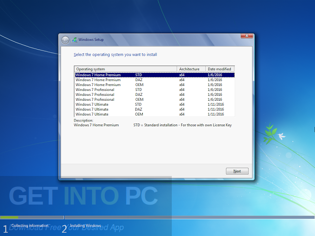 download win 7 professional 64 bit