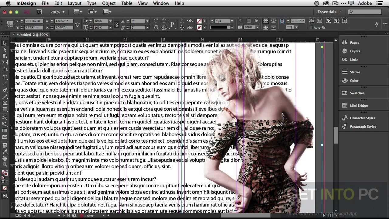 Adobe InDesign CC 2017 DMG for MacOS Direct Link Download