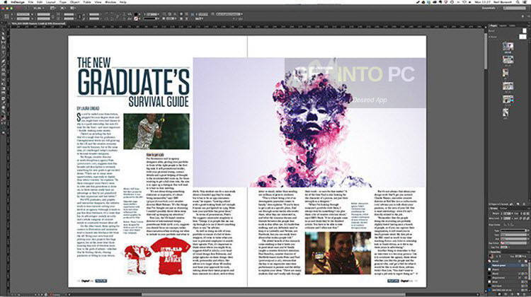 Download Adobe InDesign CC 2017 DMG for MacOS