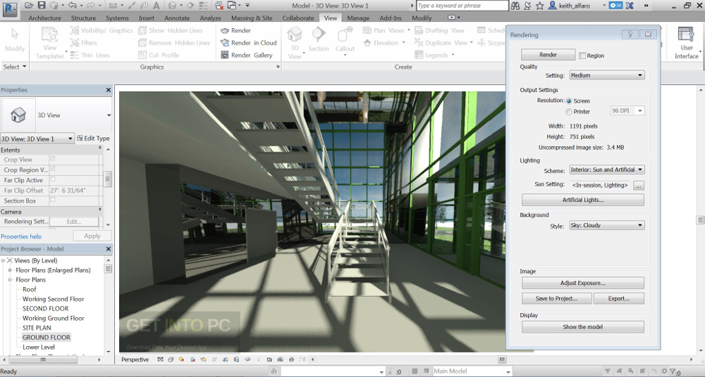 Autodesk Revit 2017 64 Bit Setup Direct Link Download