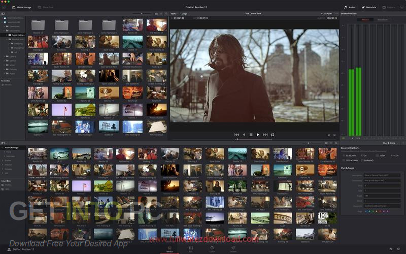 DaVinci Resolve Studio 12.5 + easyDCP DMG For MacOS Direct Link Download