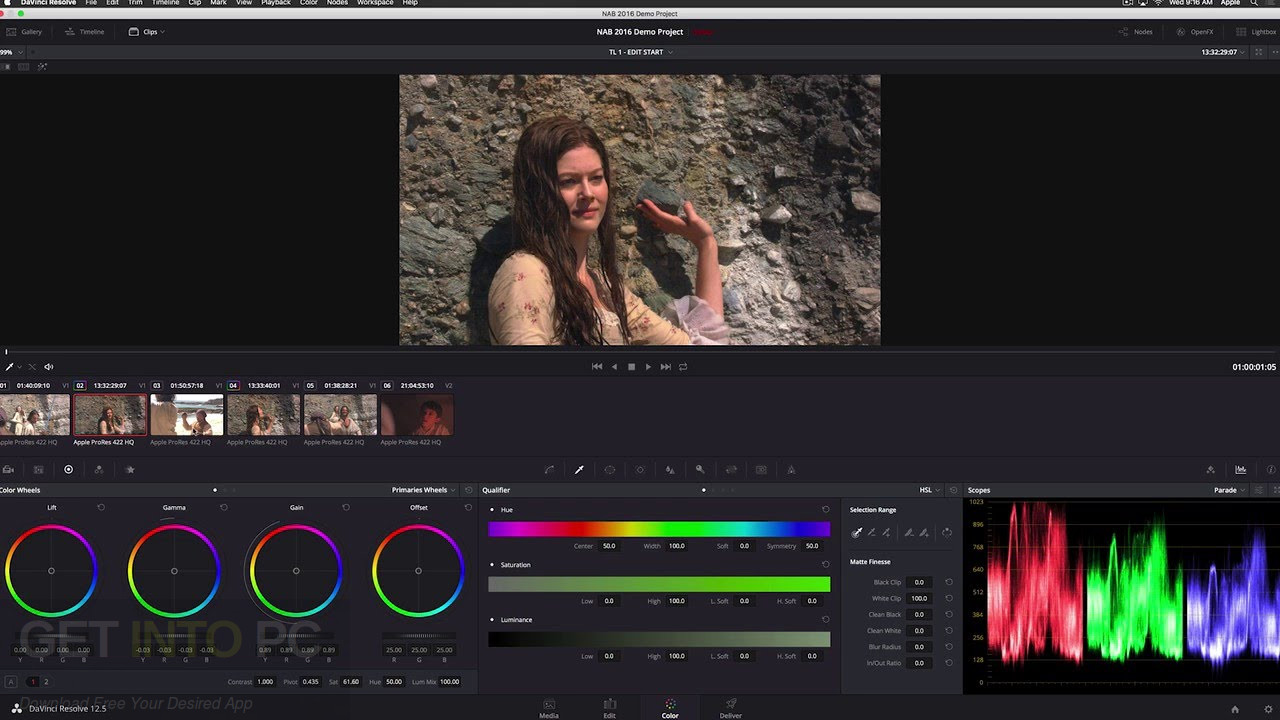 DaVinci Resolve Studio 12.5 + easyDCP DMG For MacOS Latest Version Download
