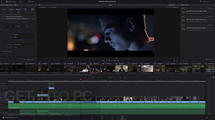 DaVinci Resolve Studio 12.5 + easyDCP DMG For MacOS Offline Installer Download
