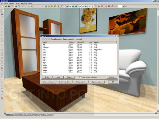 Kitchen furniture and interior design software free download for Interior design software