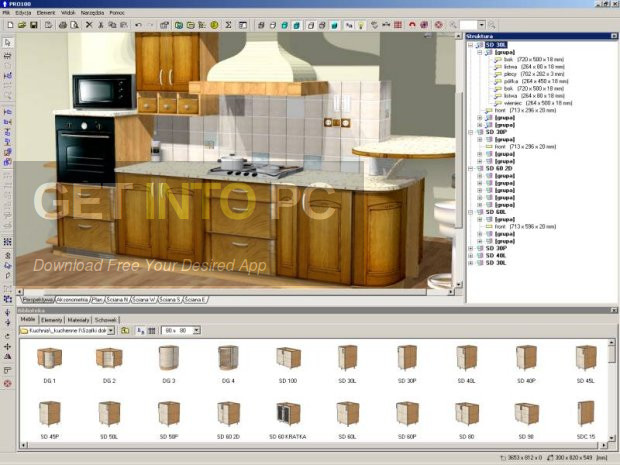 Kitchen furniture and interior design software free download Kitchen design software for beginners