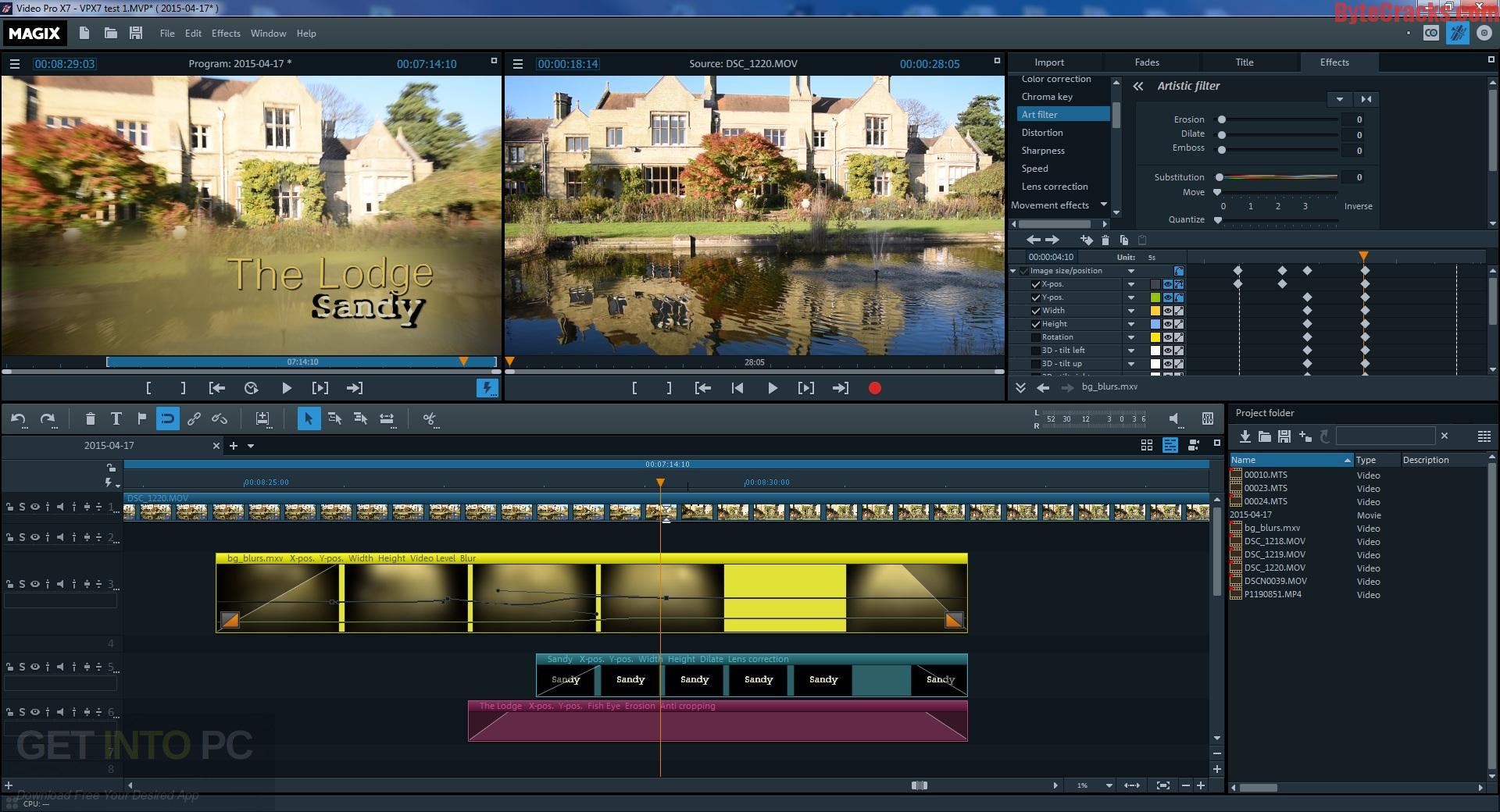 MAGIX Video Pro X8 Offline Installer Download