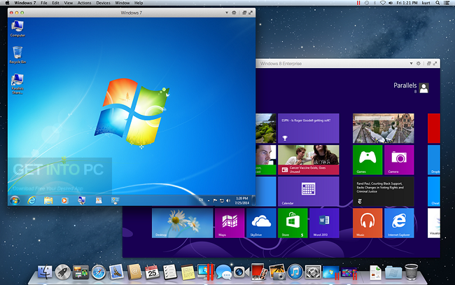 Parallels Desktop 10.2.1 DMG for MacOSX Offline Installer Download