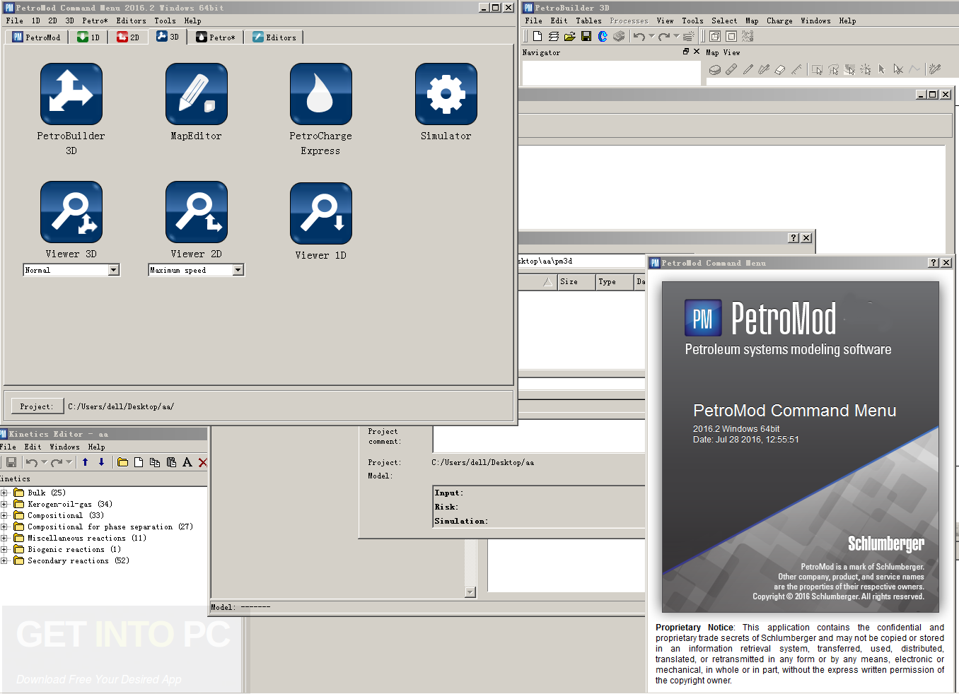 Schlumberger PetroMod 2012 Direct Link Download