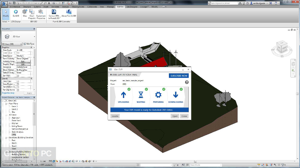 Autodesk Revit Live 2018 Offline Installer Download