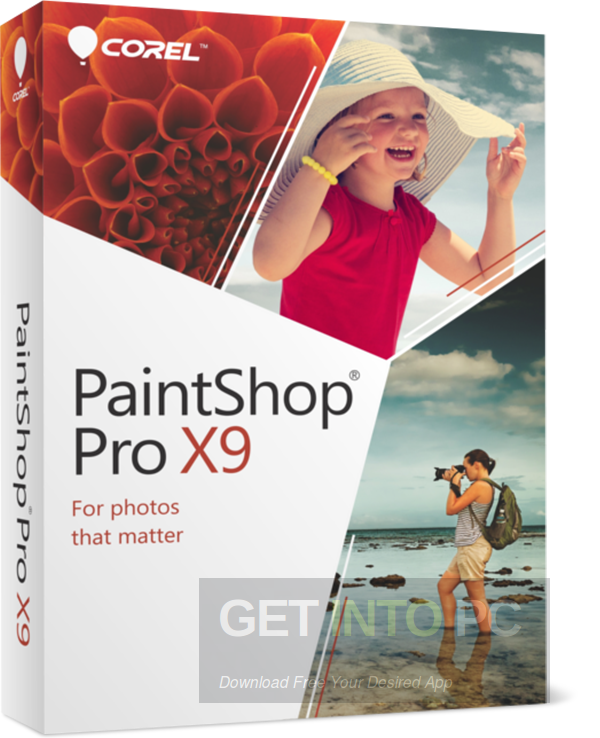 Corel PaintShop Pro X9 Free Download