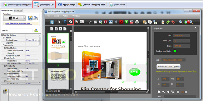 Flip Shopping Catalog Offline Installer Download