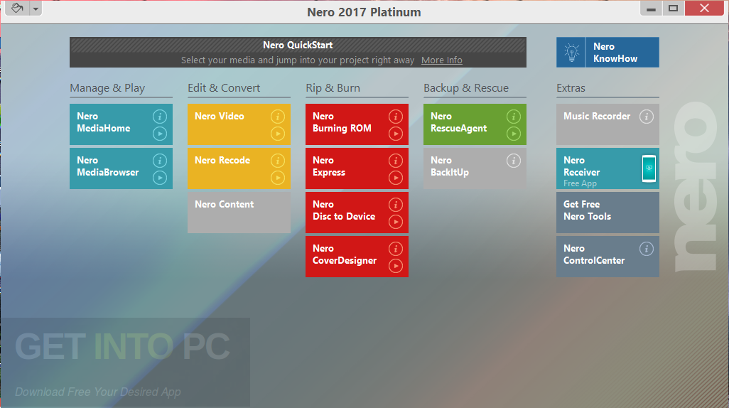 Nero 2017 Platinum Latest Version Download