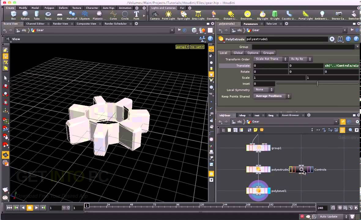 Download SideFX Houdini v14 With Engine