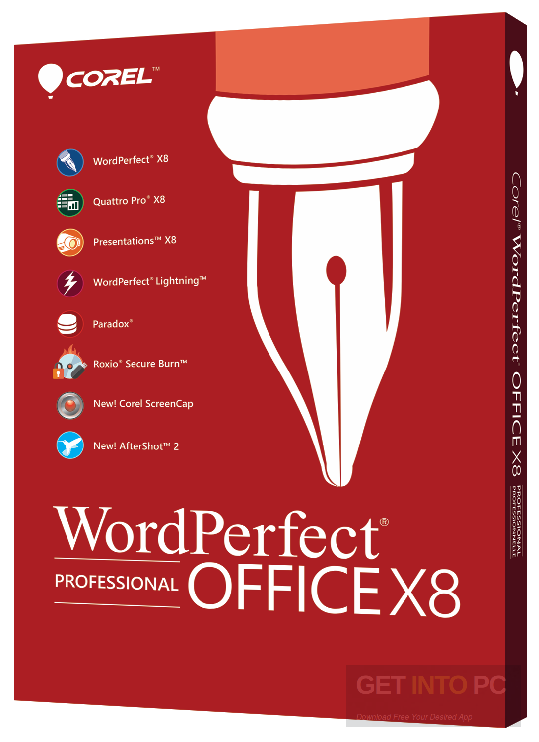 Corel WordPerfect Office X8 Pro Free Download