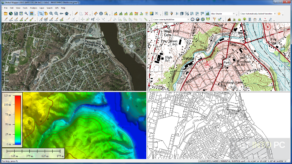 Global Mapper 18 Latest Version Download