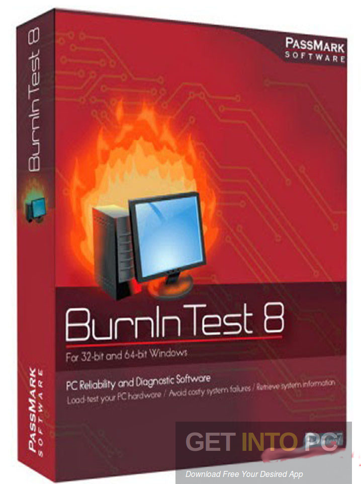 PassMark BurnInTest Pro Free Download