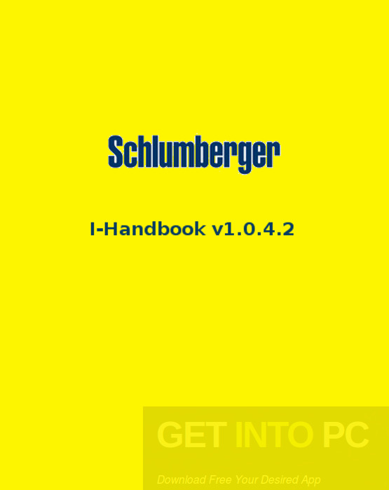 Schlumberger I-Handbook v1.0.4.2 Free Download