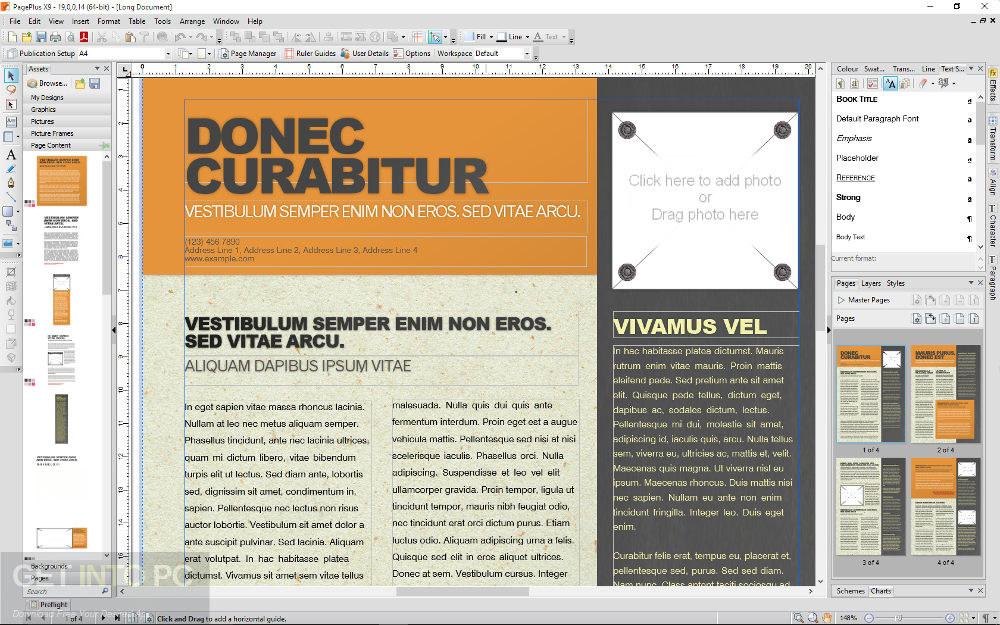 Serif PagePlus X9 Latest Version Download