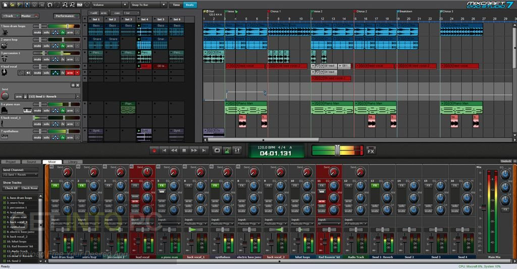 Acoustica Mixcraft Pro Studio 8.1 Free Download