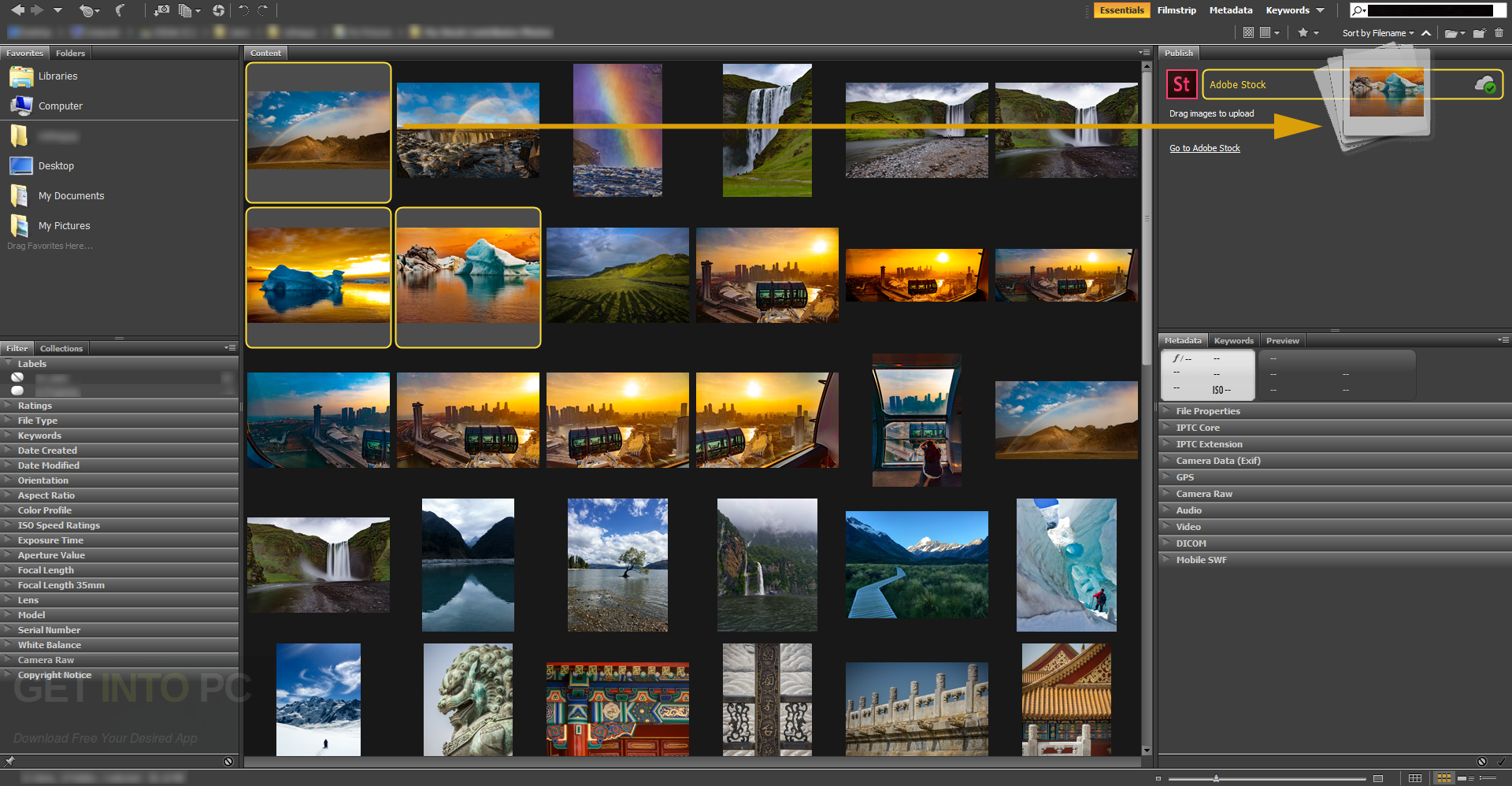 Adobe Bridge CC 2017 Direct Link Download