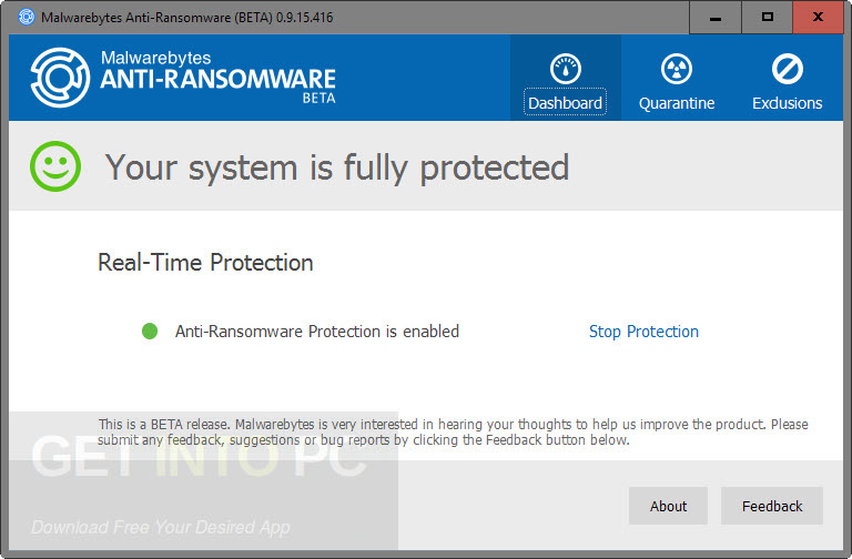 Anti-Ransomware Package Offline Installer Download
